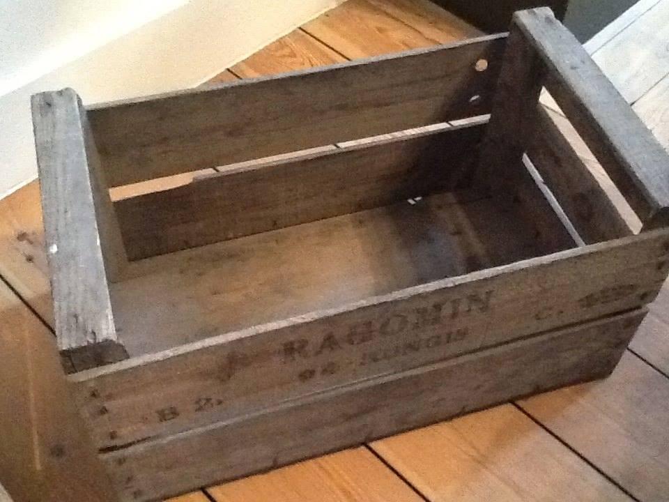 Caisses en bois d coration - Vieilles caisses en bois a vendre ...