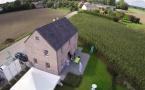 Sibomat : La maison témoin vue du ciel !