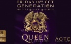 G30, Dinner, Queen by Pilgrims Live & Party