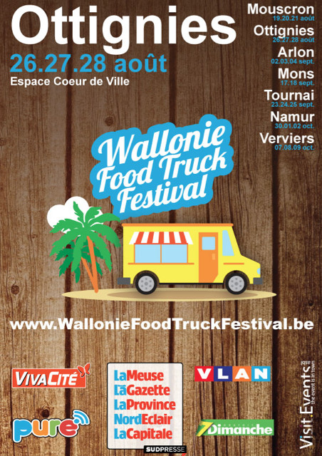 Wallonie Food Truck Festival Tour 2016