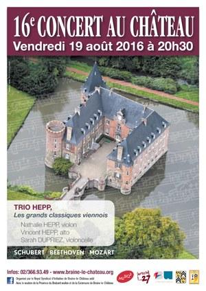 Braine-Le-Château : Concert au Château