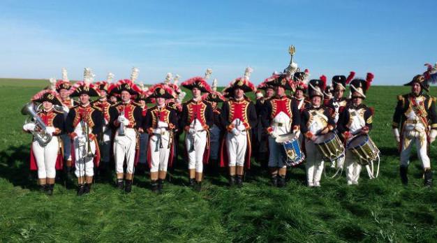 Waterloo : Le week-end des 24 et 25 septembre, un bivouac au rythme de la Musique de la Garde Impériale