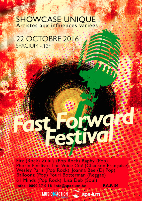 Hamme Mille : MUSIC ACTION INSTITUT  présente  FAST FORWARD FESTIVAL