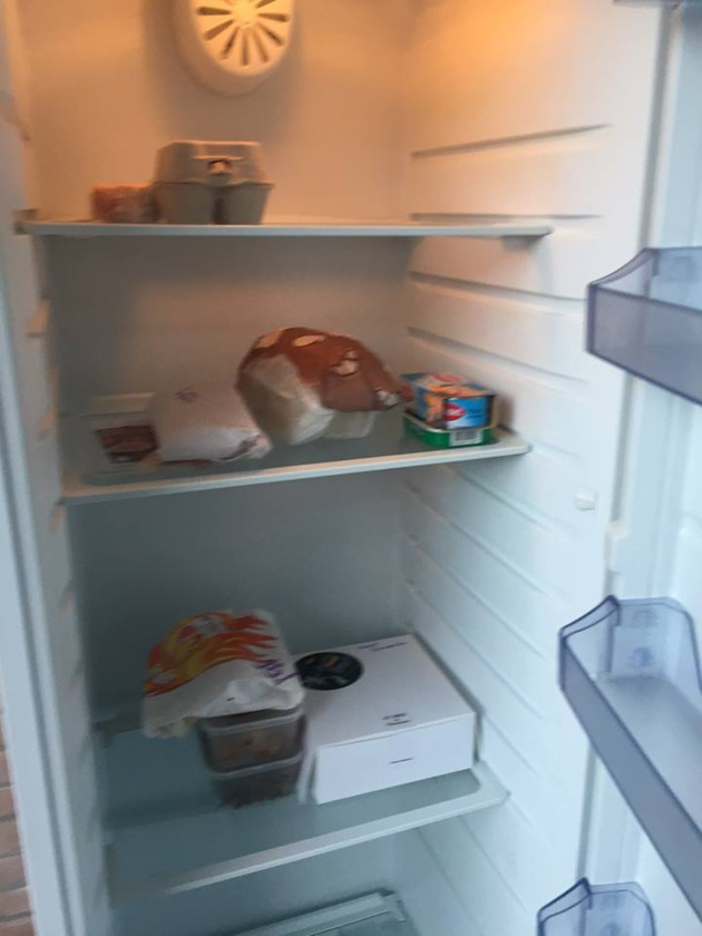 Un frigo solidaire à Waterloo