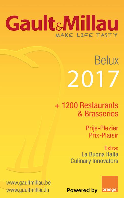 Gault&Millau 2017: Tous les résultats + Focus Brabant wallon !