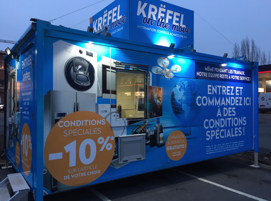 Inauguration du premier « Krëfel on the move » à Waterloo !