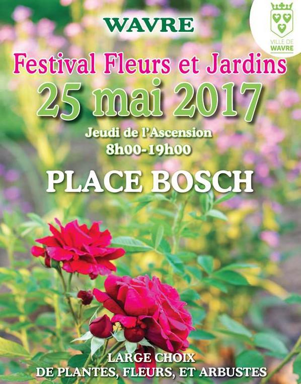 Festival Fleurs & Jardins à Wavre