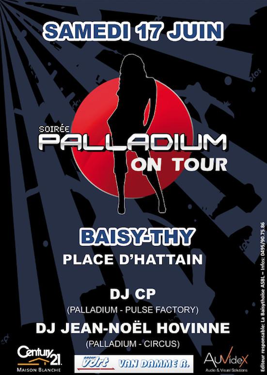 Retour du Palladium à Baisy-Thy !