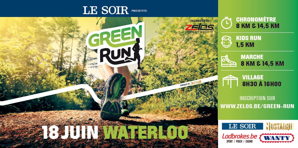Waterloo : La Green Run !