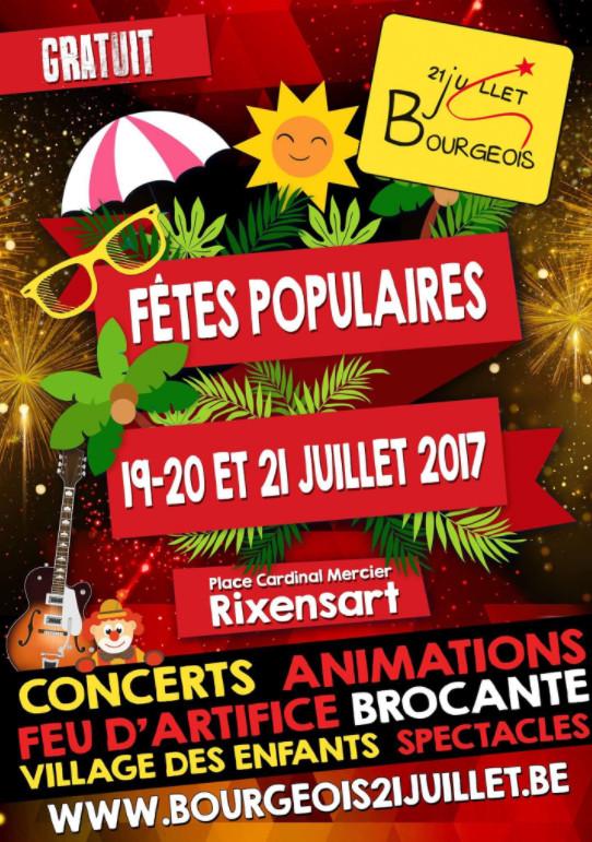 21 juillet à Bourgeois / Rixensart