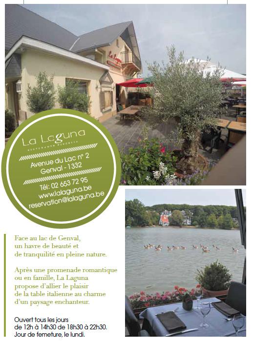 Restaurant à Genval : La Laguna