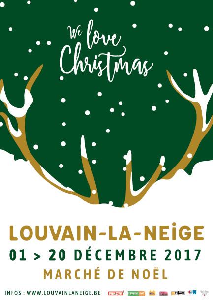LOUVAIN-LA-NEUVE: Louvain La Neige  (jusqu'au 20 décembre 2017)