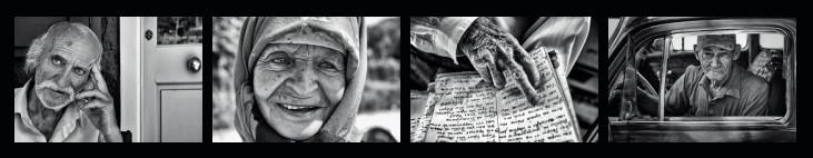 Exposition temporaire de photographies par Nikos Aliagas : L'épreuve du temps