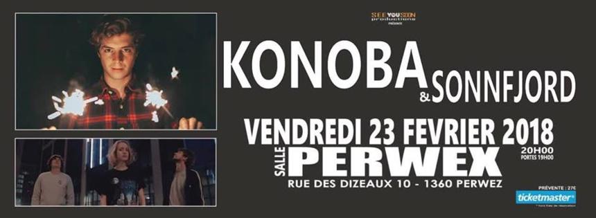 Des titres inédits lors d'un ultime concert de Konoba le 23 février 2018 au Perwex