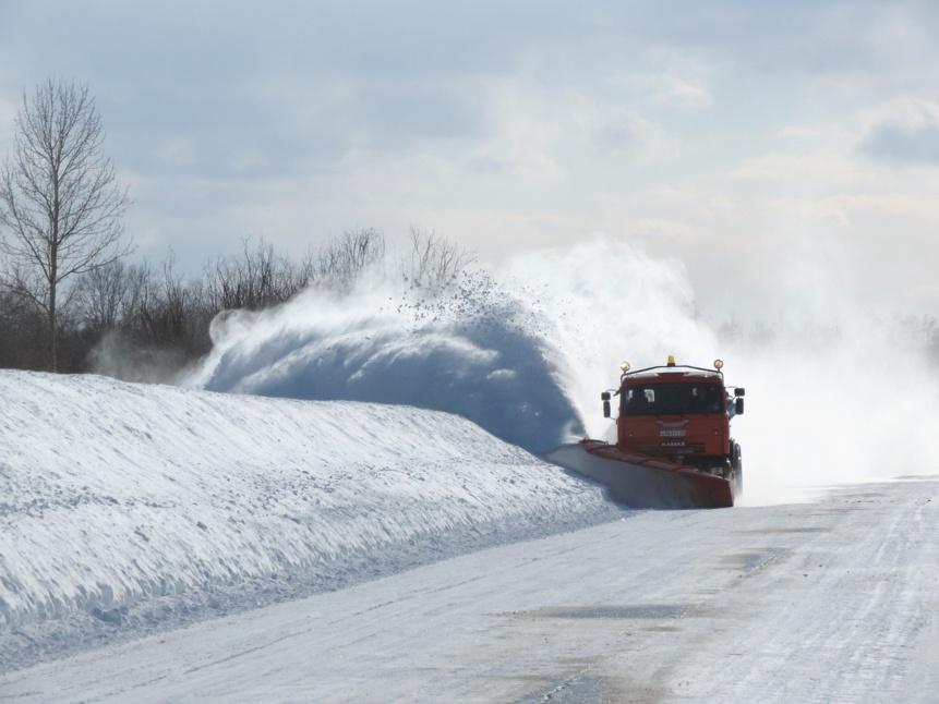 Brabant Wallon : L'AWSR rappelle quelques règles pour circuler sur la neige et le verglas !