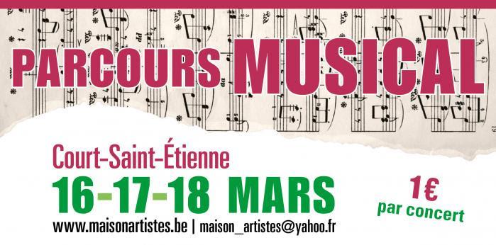 Court-Saint-Etienne : Le parcours musical fait son grand retour !