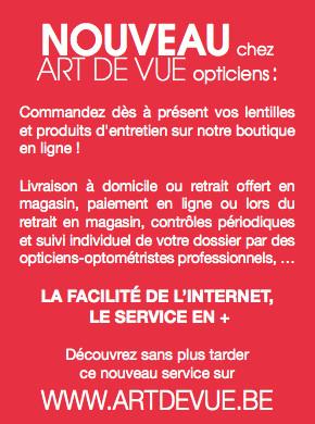ART DE VUE opticiens à Wavre : Pour vos beaux yeux...