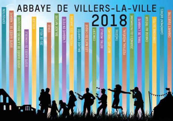 L'Abbaye de Villers-la-Ville : Les rendez-vous à ne pas manquer