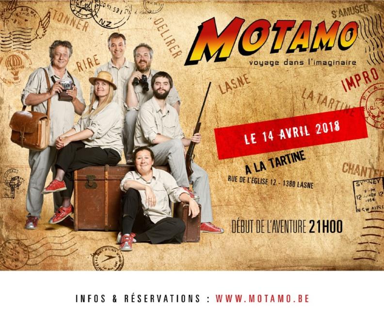 Motamo revient le 14 Avril !