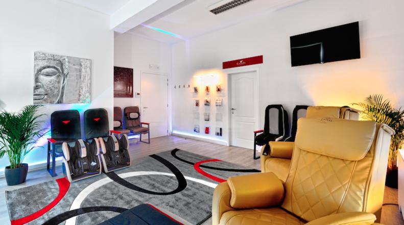 OUVERTURE à Genval : Découvrez la Powerboard et les fauteuils à massages ! (ESSAI GRATUIT)