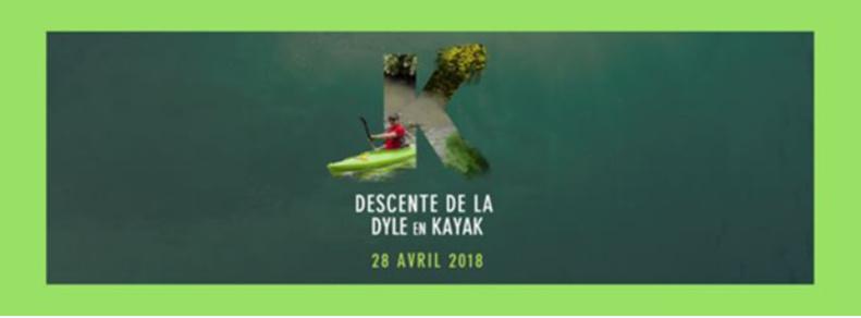Descente de l'Orne, la Thyle et la Dyle en kayak le samedi 28 avril