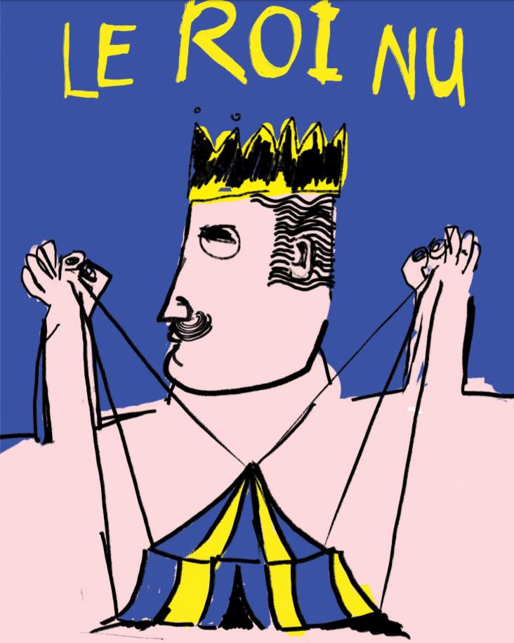 Le roi nu : une pièce de théatre actuelle à Waterloo