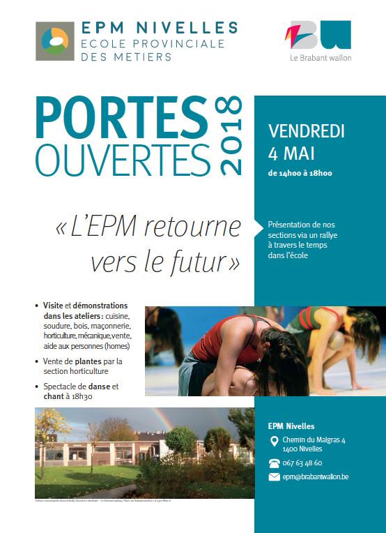 PORTES OUVERTES : EPM Nivelles et IPES Wavre