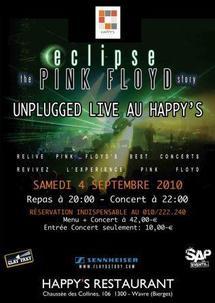 Soirée Pink Floyd Story au Happy's
