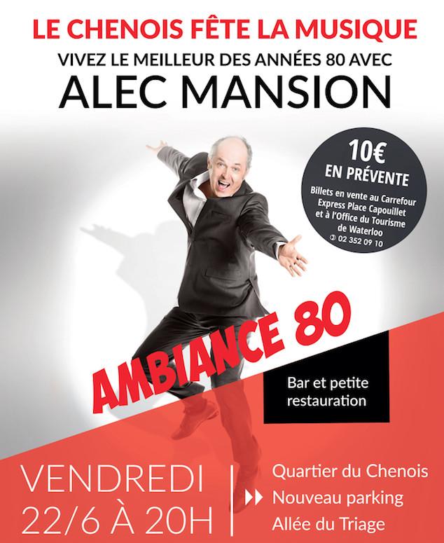 Alec Mansion donne le coup d'envoi de la Fête de la Musique à Waterloo