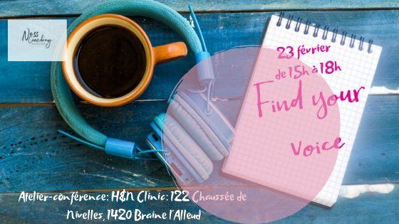 Atelier-Conférence: Ma voix et moi