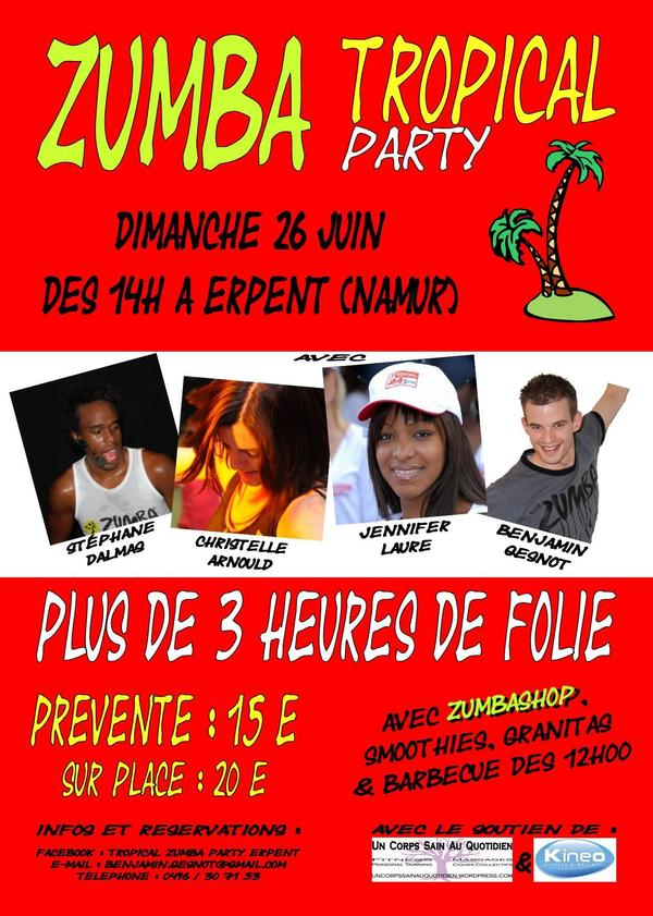 Zumba Tropical Party