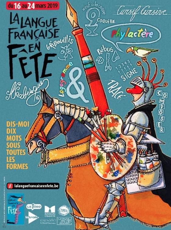 La Langue française en fête  du 16 au 24 mars