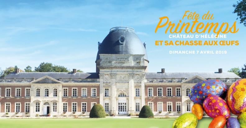 Château d'Hélécine : La Fête du Printemps et sa chasse aux oeufs