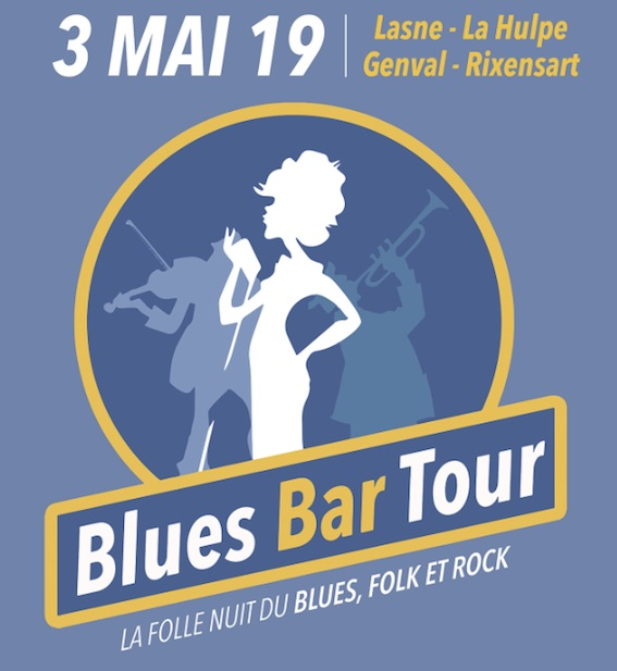 LE RIDEAU ROUGE à Lasne : Blues Bar Tour 2019