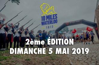 JOGGING 5 et 10 MILES DE LA BATAILLE DE 1815 ET MARCHE