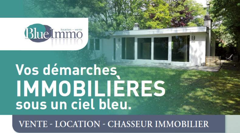 BLUE IMMO à Wavre :  Vos démarches immobilières  sous un ciel bleu.