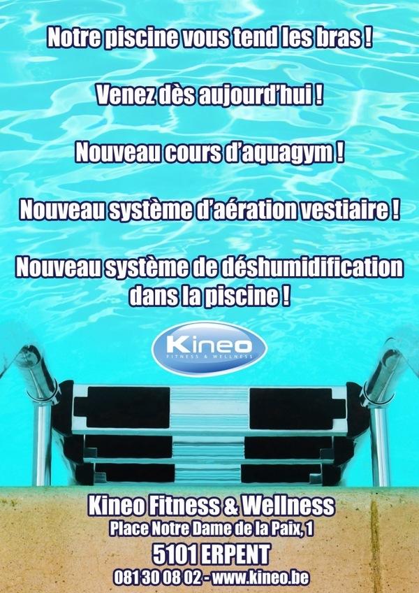 Ouverture de la piscine à ERPENT !