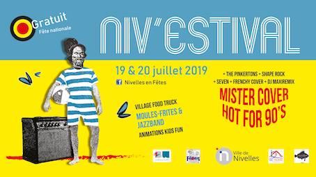 Nivelles : Le niv'Estival revient ces 19 et 20 juillet pour des shows uniques