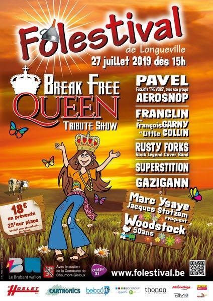 Longueville: Le festival le plus Flower Power du BW revient cette année