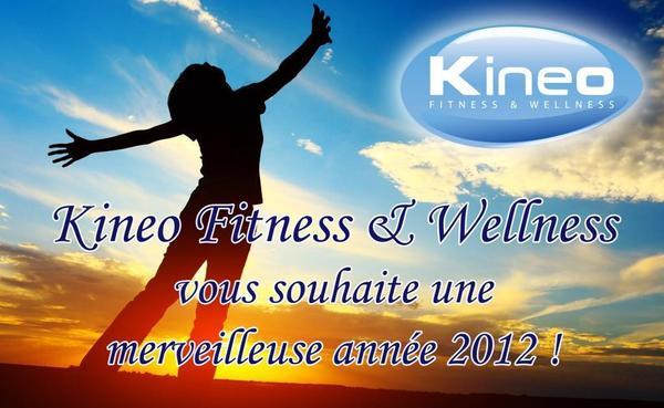 Kineo Fitness & Wellness pour 2012 !