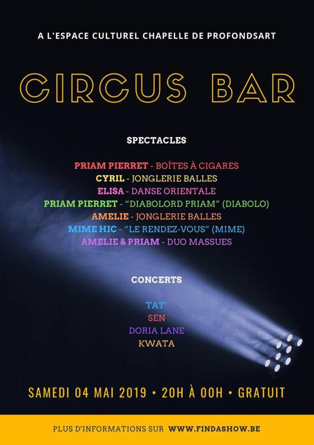 Circus Bar à Profondsart