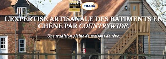 L'expertise artisanale des bâtiments en chêne par countrywide : Une tradition.