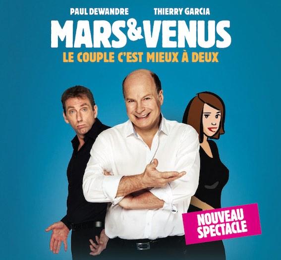 Les hommes viennent de Mars et les femmes de Vénus 3 - Nouveau spectacle
