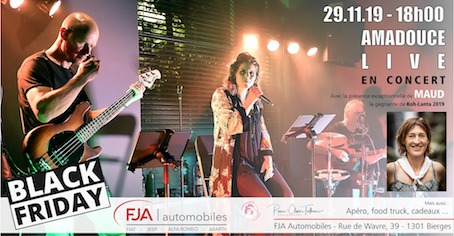 Afterwork & concert de Amadouce at FJA- Black Friday !