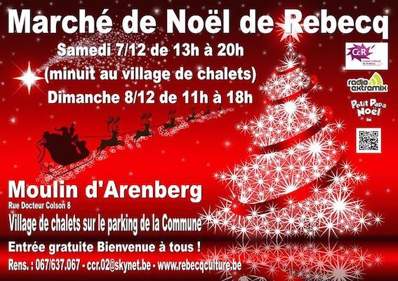 Marché de Noël de Rebecq 2019