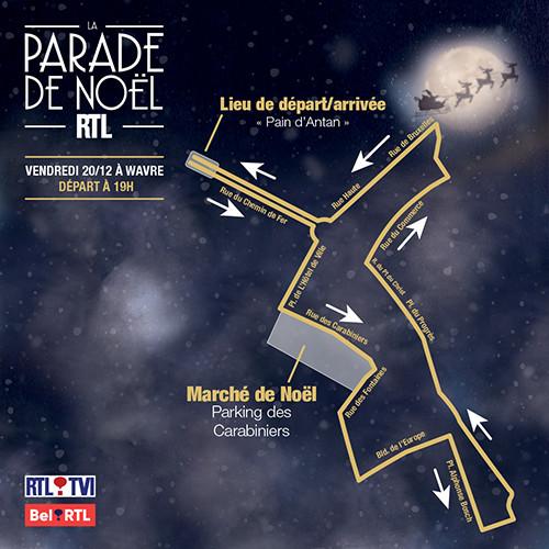 Wavre : La parade de Noël RTL 2019