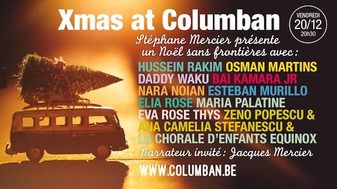 """Wavre : Concert - Christmas at Columban """"Un Noël sans frontières"""""""