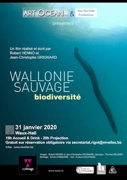 Nivelles accueille l'avant-première mondiale du film documentaire «Wallonie Sauvage»