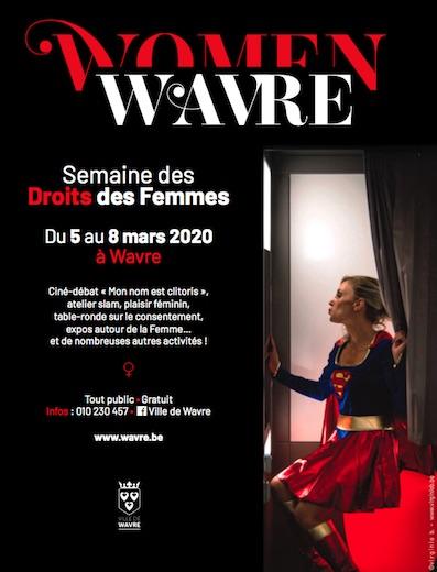 Woman Wavre, semaine des Droits des Femmes