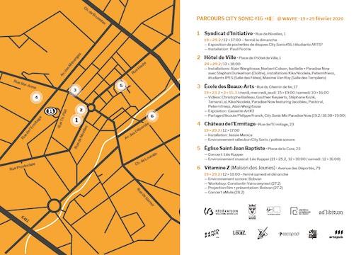 City Sonic – festival des arts sonores à Wavre